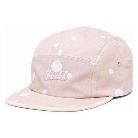 czapka z daszkiem Herschel Glendale - Soda Print Cameo Rose