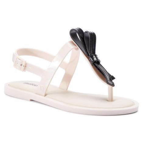 Sandały MELISSA - Slim Sandal Ad 32399 Beige/Black 51485