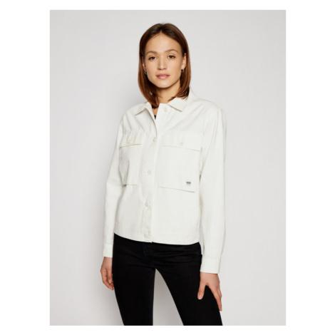 Vans Kurtka jeansowa Clark VN0A5AR6 Biały Regular Fit