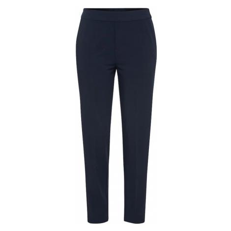 OBJECT Spodnie w kant 'CECILIE' niebieski