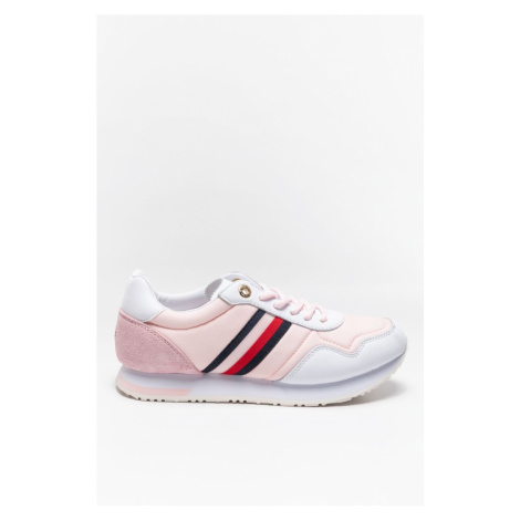 Buty Tommy Hilfiger Sneakersy Casual City Runner Fw0Fw05560Tog Pink