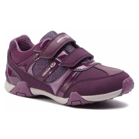 Sneakersy GEOX - J Tale A J8421A 0HHEW C8017 S Prune