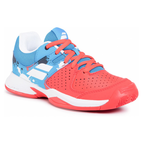 Buty BABOLAT - Pulsion All Court Jr 32S20482 Tomato Red/Blue Aster