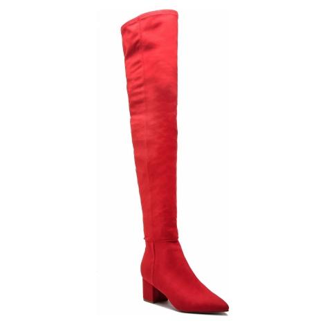 Muszkieterki STEVE MADDEN - Bolted Boot SM11000229-04001-009 Red