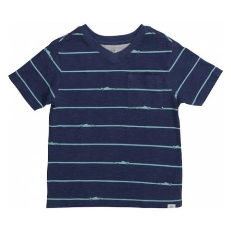 GAP Koszulka 'NOVELTY' niebieska noc