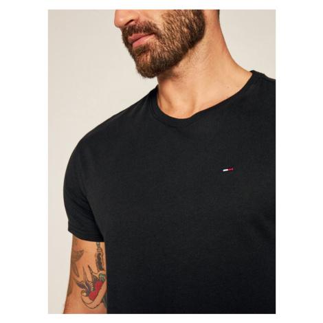 Tommy Jeans T-Shirt DM0DM04411 Czarny Regular Fit Tommy Hilfiger