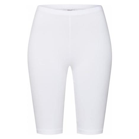 ONLY Spodnie 'onlLIVE LOVE LONG CITY SHORTS JRS' biały