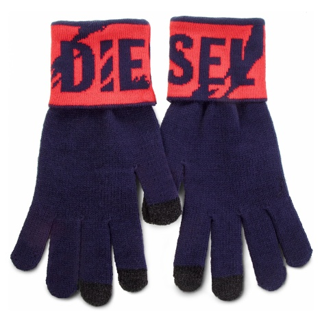 Rękawiczki Męskie DIESEL - K-Screex Glove 00SJ4V-0NABQ-8AT Peacoat Blue