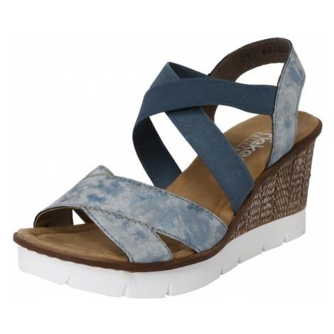 RIEKER Sandały jasnoniebieski