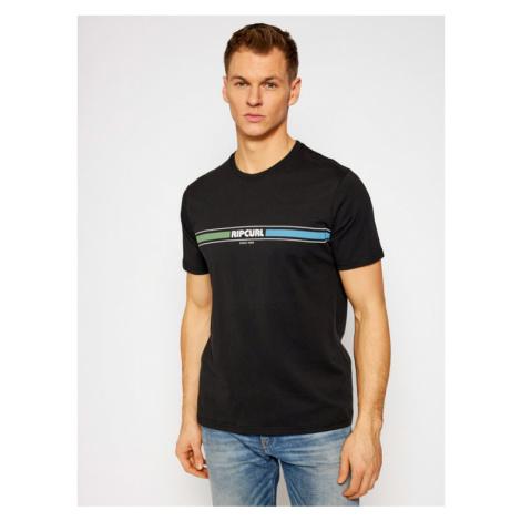 Rip Curl T-Shirt Mama Horizon CTEQK5 Czarny Standard Fit