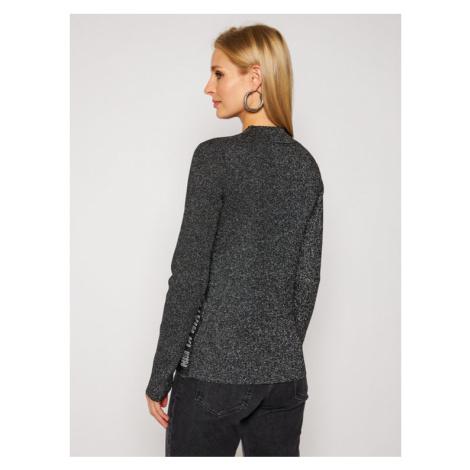 Calvin Klein Jeans Sweter J20J214829 Srebrny Slim Fit