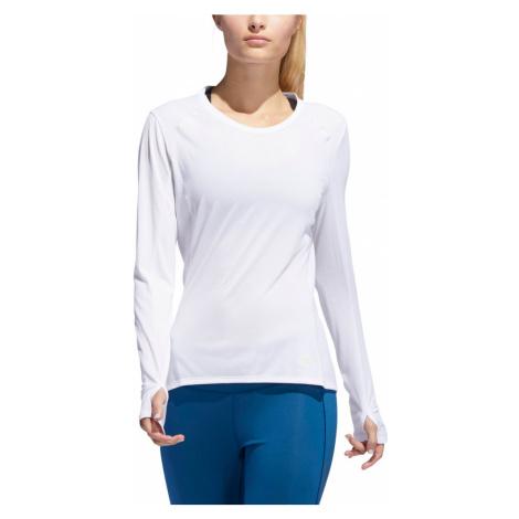 Bluza adidas Supernova LS Tee W Biała