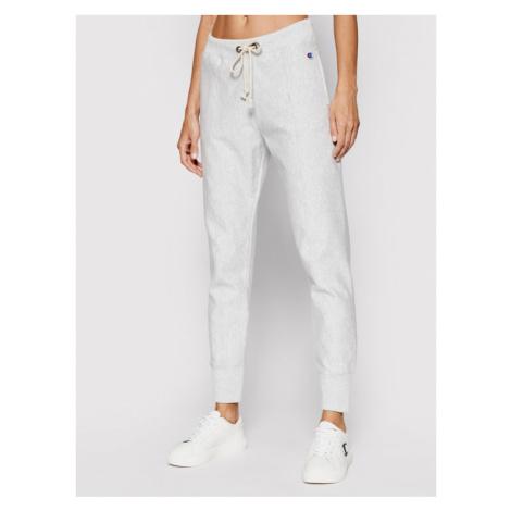 Champion Spodnie dresowe Seam Detail 112696 Szary Slim Fit