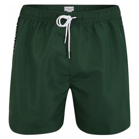 Calvin Klein Swimwear Kąpielówki zielony