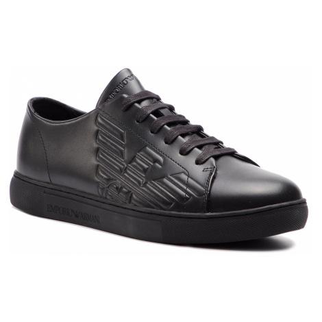 Sneakersy EMPORIO ARMANI - X4X238 XF332 00002 Black