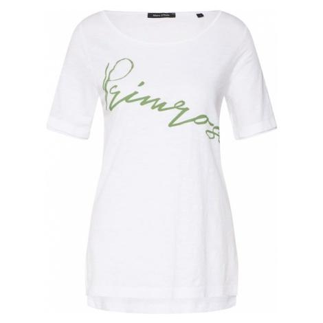 Marc O'Polo Koszulka jasnozielony / biały