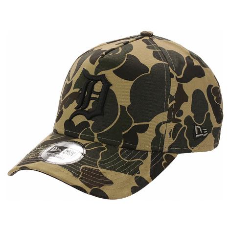 czapka z daszkiem New Era 9FO Aframe Camo MLB Detroit Tigers - Dark Stone Camo/Black