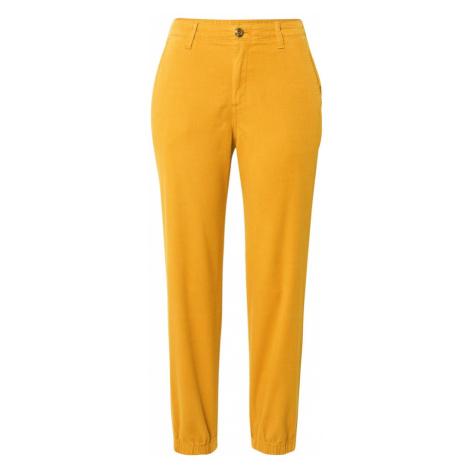 GAP Spodnie ciemnożółty