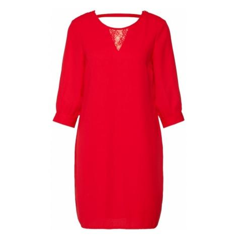 VERO MODA Sukienka 'GABBY' czerwony