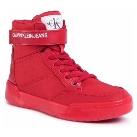 Sneakersy CALVIN KLEIN JEANS - Nigel S1772 Scarlet