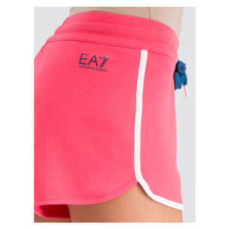 EA7 Emporio Armani Szorty sportowe 3GTS53 TJ31Z 1456 Różowy Regular Fit