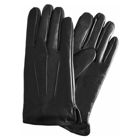 Semiline Man's Men Skórzane rękawice antybakteryjne P8216-0