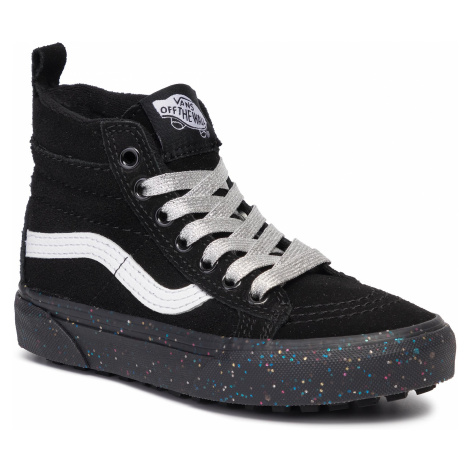 Sneakersy VANS - SK8-Hi Mte VN0A2XSNV3S1 (Mte) Glitter Sidewall/Blk