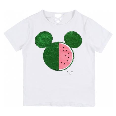 NAME IT Koszulka 'Minnie' biały