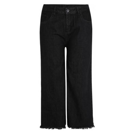 Urban Classics Jeansy czarny denim