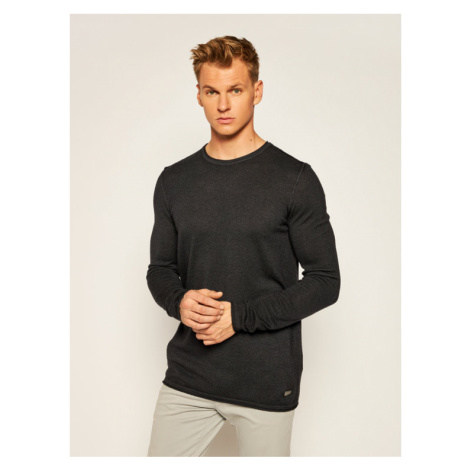 Joop! Jeans Sweter 15 Jjk-15Lelio 30023864 Czarny Regular Fit