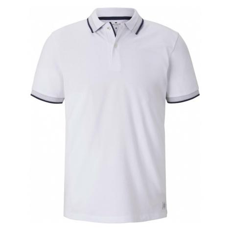 TOM TAILOR Koszulka czarny / biały