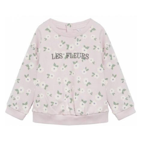 MANGO KIDS Bluzka sportowa liliowy / biały / trawa zielona / srebrno-szary