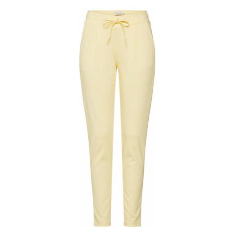 ICHI Spodnie 'KATE PA2' pastelowo-żółty