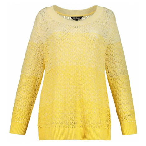 Ulla Popken Sweter żółty / jasnożółty