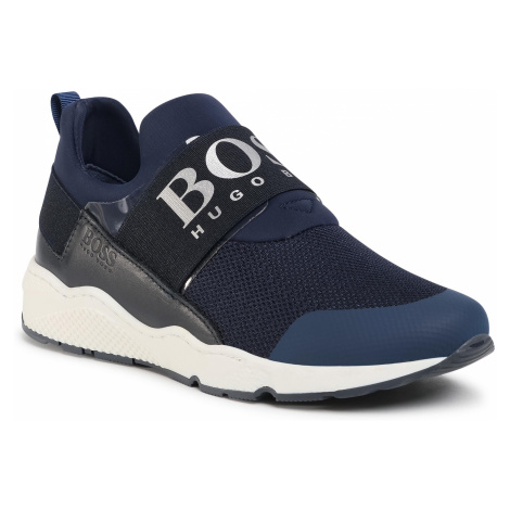 Sneakersy BOSS - J29J93 D Navy 849 Hugo Boss