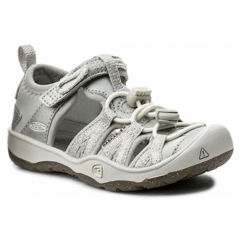 Sandały KEEN - Moxie Sandal 1018363 Silver