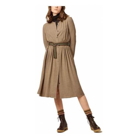 Dolores belted butonned dress Sessùn