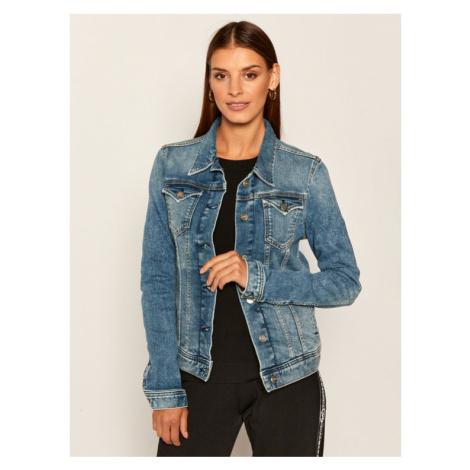 Pepe Jeans Kurtka jeansowa Thrift PL400755 Granatowy Regular Fit