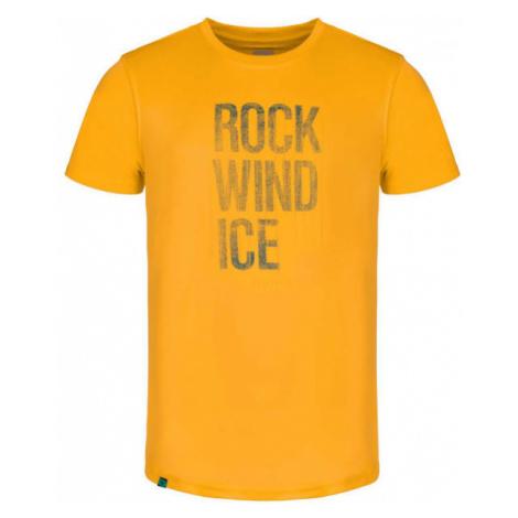Loap ALWIN żółty L - Koszulka męska