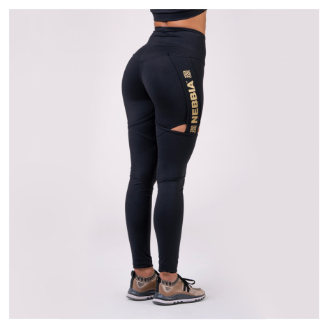 NEBBIA Legginsy damskie Honey Bunny Black