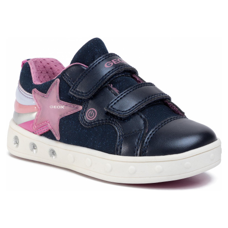 Sneakersy GEOX - J Skylin G. C J028WC 0ASAJ C4002 M Navy