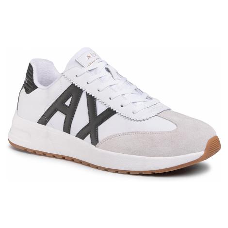 Sneakersy ARMANI EXCHANGE - XUX071 XV234 A170 Opt White/Dk Green