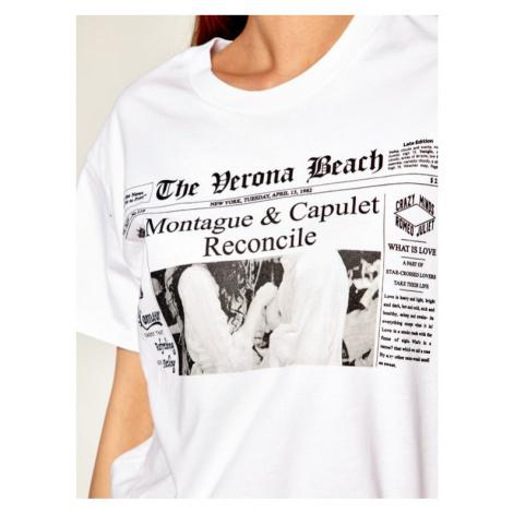 Silvian Heach T-Shirt Obruce CVP20231TS Biały Regular Fit