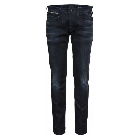REPLAY Jeansy 'ANBASS' niebieski denim