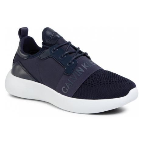 Calvin Klein Jeans Sneakersy Mel Knit SE8596 Granatowy