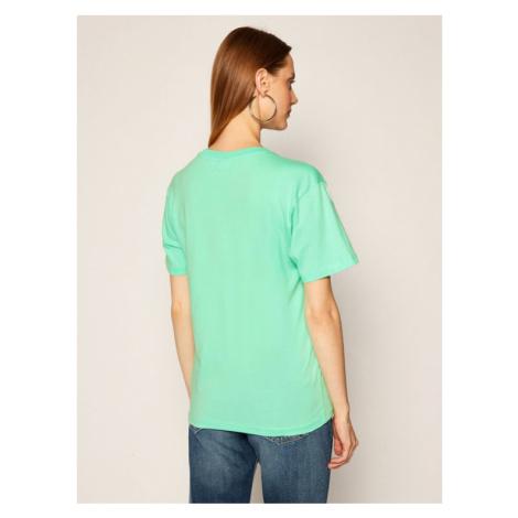 Fila T-Shirt Eara 687469 Zielony Regular Fit