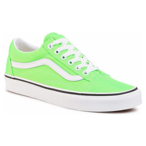 Tenisówki VANS - Old Skool VN0A4U3BWT51 (Neon) Green Gecko/Tr Wht