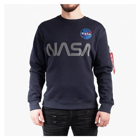 Bluza męska Alpha Industries NASA Reflective Sweater 178309 07