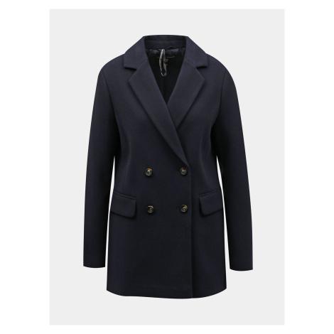 Ciemnoniebieski płaszcz Dorothy Perkins