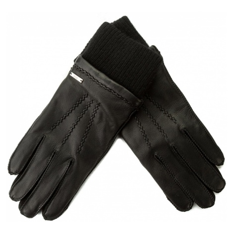 Rękawiczki Męskie BOSS - Dieseistrasse 50372702 Black 001 Hugo Boss